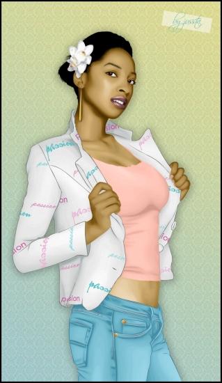 Ebony Taylor par jussta